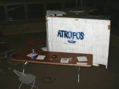 An outside view of the Atropos.